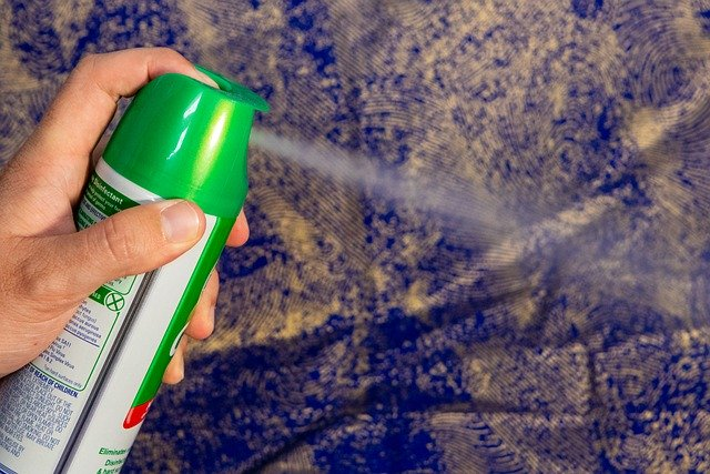 disinfectant on common surfaces