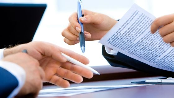 Write all important points in the lease