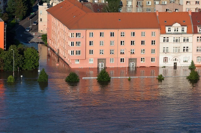 how should landlords deal with water damage